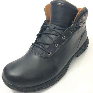 UGG AUSTRALIA 12 Boots Leather Speed Hooks Black